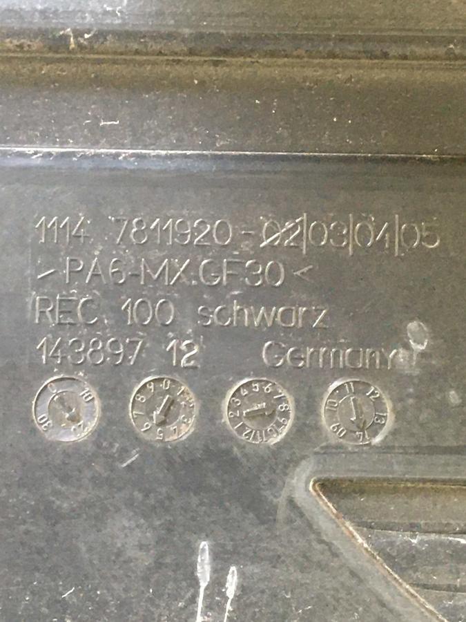Coperchio Motore BMW Mini   7811920