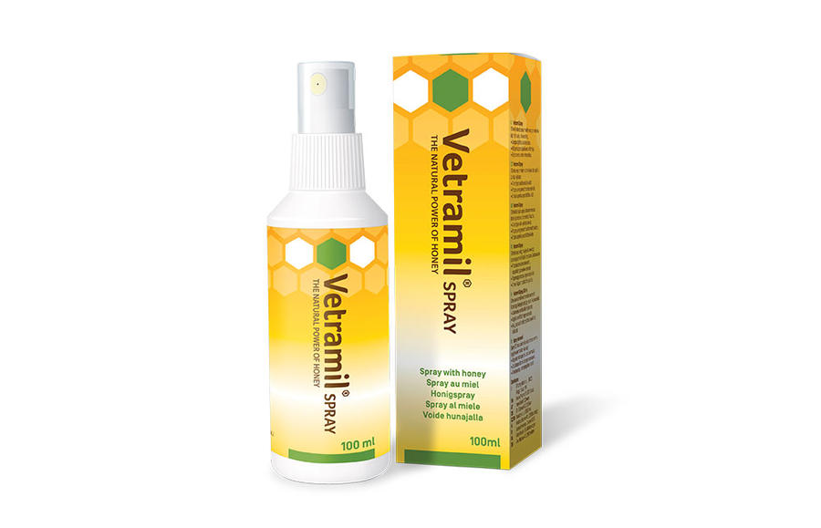 Vetramil® Spray - Al miele e Oli Essenziali - 100 ml
