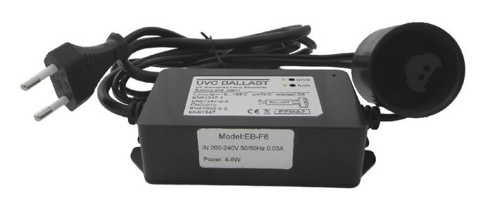 Ballast alimentatore 4/6 watt