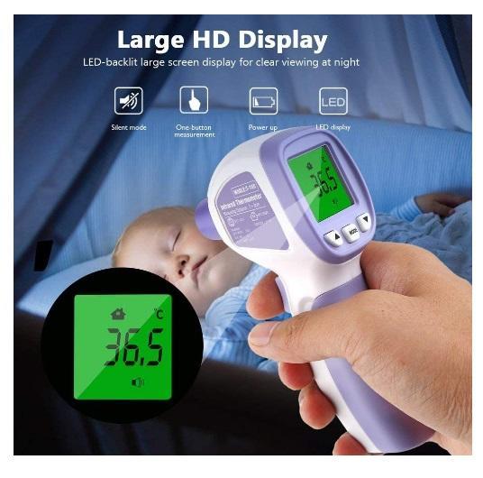 Termometro Digitale a infrarossi Professionale Senza Contatto