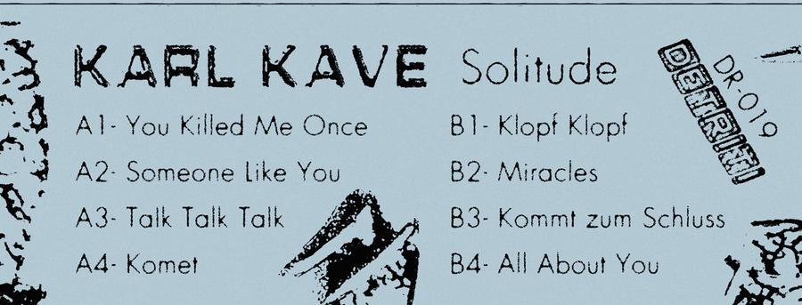 Karl Kave - Solitude
