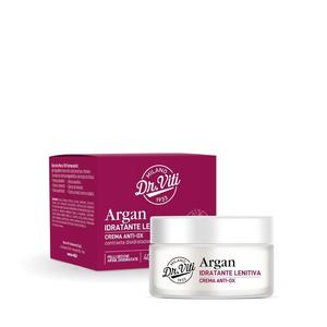 DR. VITI -  ARGAN CREMA IDRATANTE LENITIVA ANTI-OX con Olio Biologico di Argan