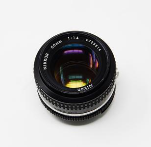 Nikon - Obiettivo Nikkor 50 mm, f/1.4 AI - usato