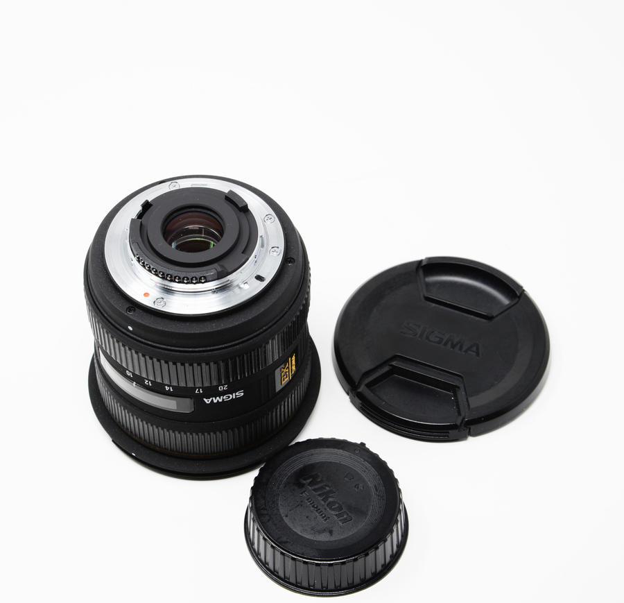 Sigma - Obiettivo 10-20 mm, f/4-5.6 DC HSM, attacco Nikon