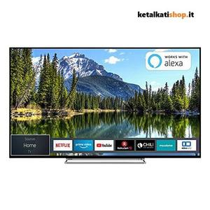 "Smart TV Toshiba 55VL5A63DG 55"" 4K Ultra HD LED WiFi Nero"