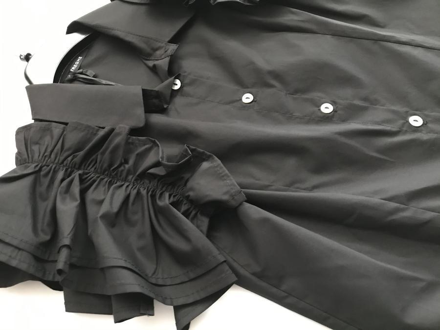LE STREGHE camicia rouches
