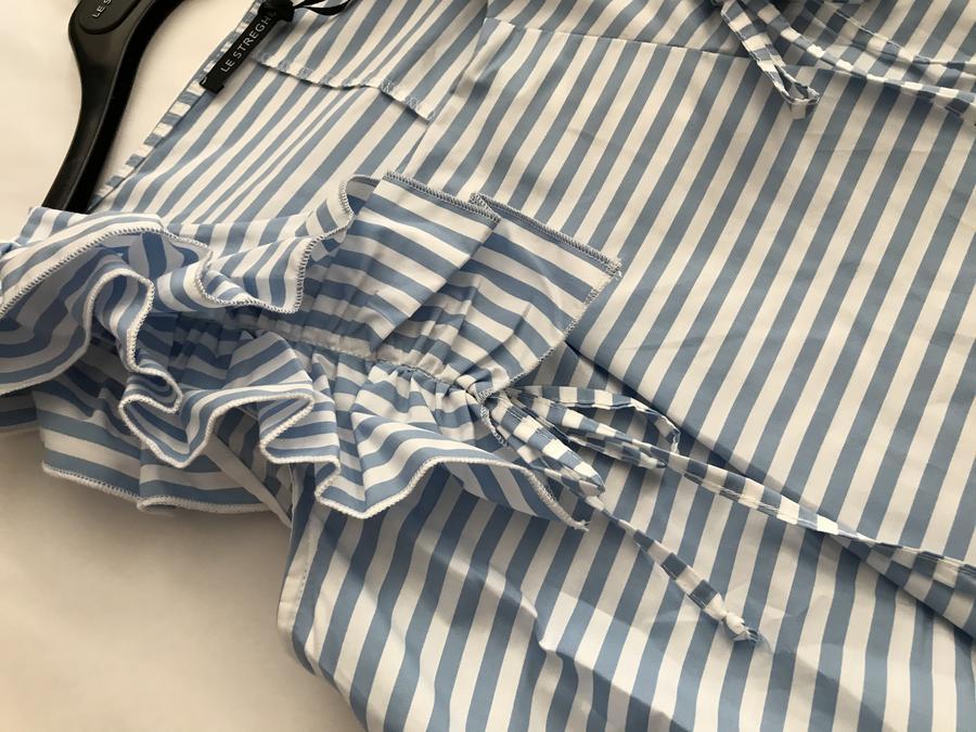 LE STREGHE abito rouches ampio