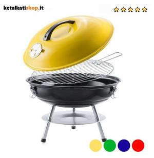 Barbecue Portatile(Ø 36 CM) 4 Colorazioni