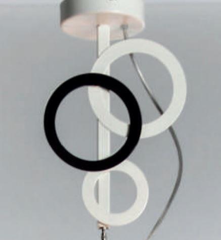 Lampada a Sospensione Olimpia di Febo con Struttura Componibile in Metallo e Diffusore in Tessuto, Varie Finiture - Offerta di Mondo Luce 24
