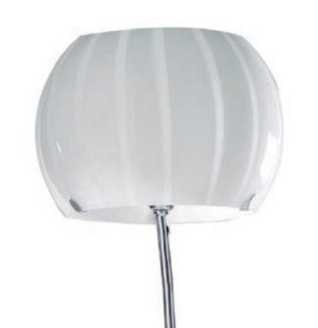 Lampada da Terra Balloon di Febo in Metallo e Vetro Soffiato Incamiciato, Varie Finiture - Offerta di Mondo Luce 24