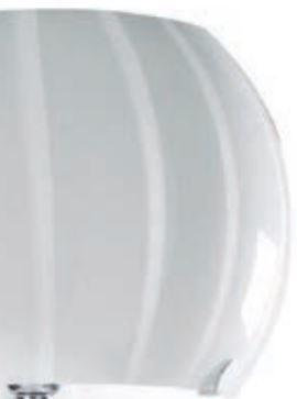 Lume Balloon di Febo in Metallo e Vetro Soffiato Incamiciato, Varie Finiture - Offerta di Mondo Luce 24