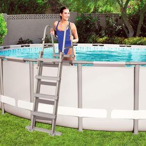 Scala Bestway 122 cm per piscine Bestway 58331 Scaletta di Sicurezza per Piscine