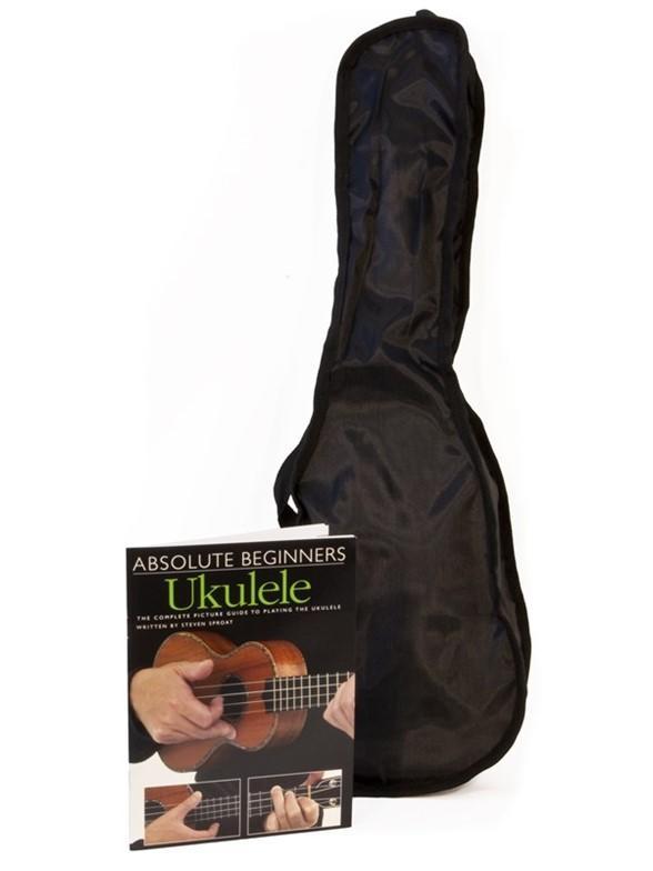 Pure Tone Soprano Ukulele Black Pack KUS15