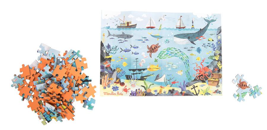 Puzzle dell'esploratore L'oceano