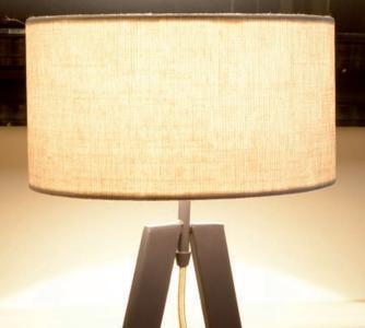 Lume Aura di Febo con Struttura in Metallo e Diffusore in Tessuto, Varie Finiture - Offerta di Mondo Luce 24