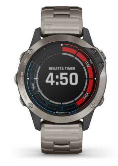 Garmin Smartwatch Quatix® 6 Titanium - Offerta di Mondo Nautica  24