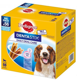 Dentastix Multipack Medium 56 pz Pedigree