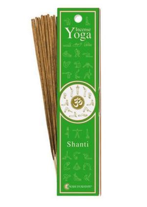 Incensi Yoga - Shanti 10 sticks