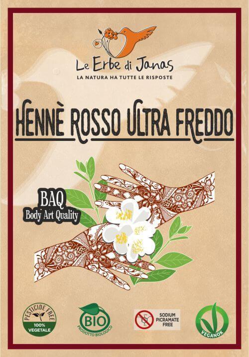 Hennè Rosso Ultrafreddo