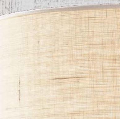 Lampada da Soffitto Sally di Febo in Metallo e Diffusore in Juta, Varie Misure e Finiture - Offerta di Mondo Luce 24
