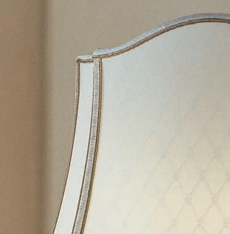 Lampada da Tavolo Class di Febo in Cristallo Pulegoso Trasparente, Bronzo Sfumato e Tessuto Diamant Avorio - Offerta di Mondo Luce 24