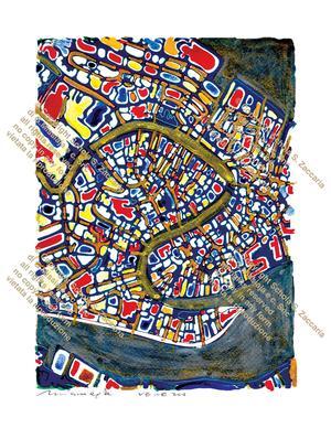 Interpretazione di Venezia Canal Grande (1970-2010)