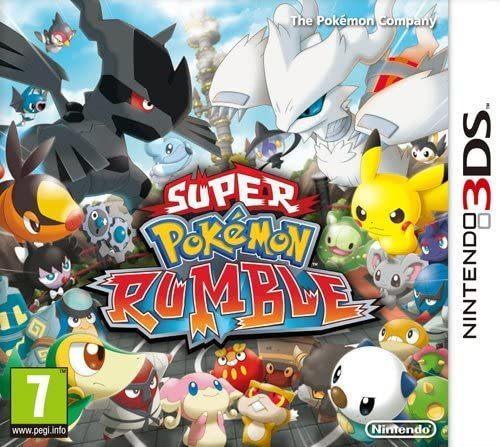 Super Pokémon Rumble 3DS Nuovo - Nintendo DS - Ver.Ita