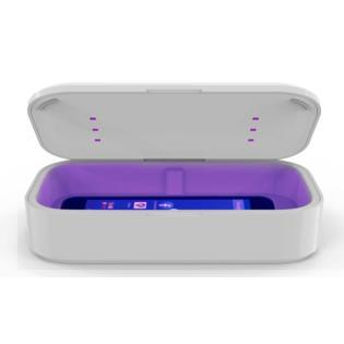 Box sterilizzante con caricatore wireless