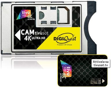 DIGIQUEST CAM TV SAT 4K BUNDLE