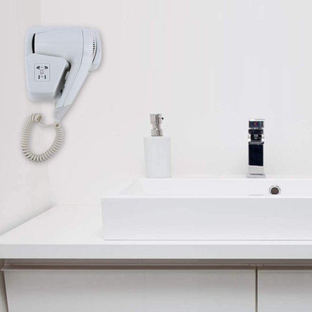 Asciugacapelli da parete (EU Plug 220V) 1300w