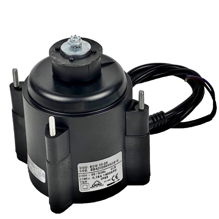 Fan Motor ELCO 20W ECM 20-25 EDA with cable