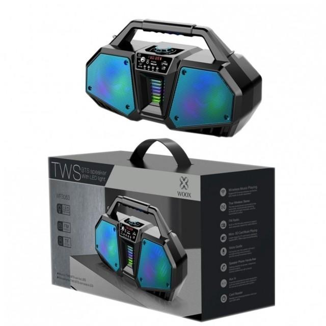 Altoparlante bluetooth WF3035 bts Karaoke-luce led-wireless-tf-fm-aux 30w