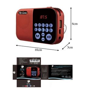 Radiolina portatile ricaricabile  Digital Music Player / FM Multimedia Hifi  MK-109