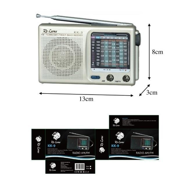 Radiolina AM-FM KK-9