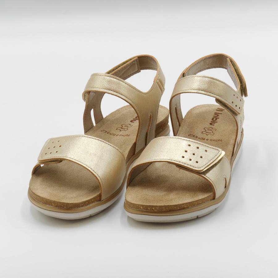 Sandalo basso con strappi PG000020 In Blu