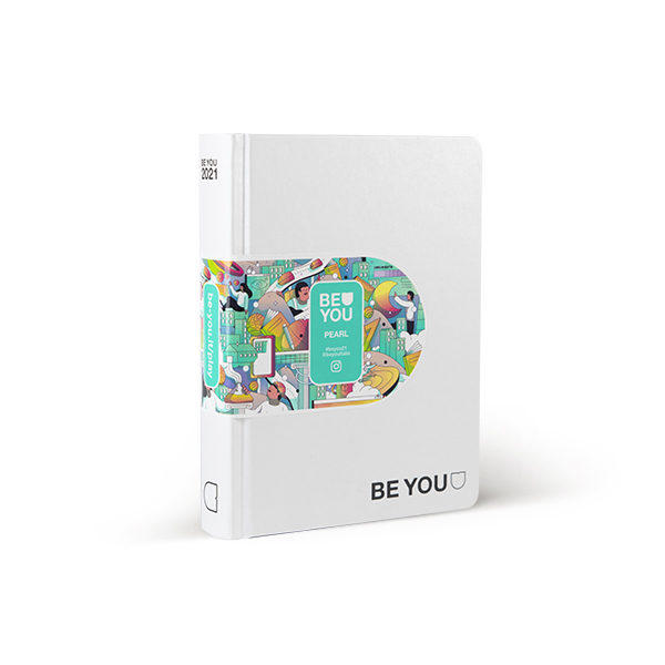 Agenda 12 mesi be-you Big PEARL