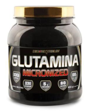 GLUTAMINA MICRONIZED - integratore alimentare a base di L-glutammina - 400 g - Gusto neutro