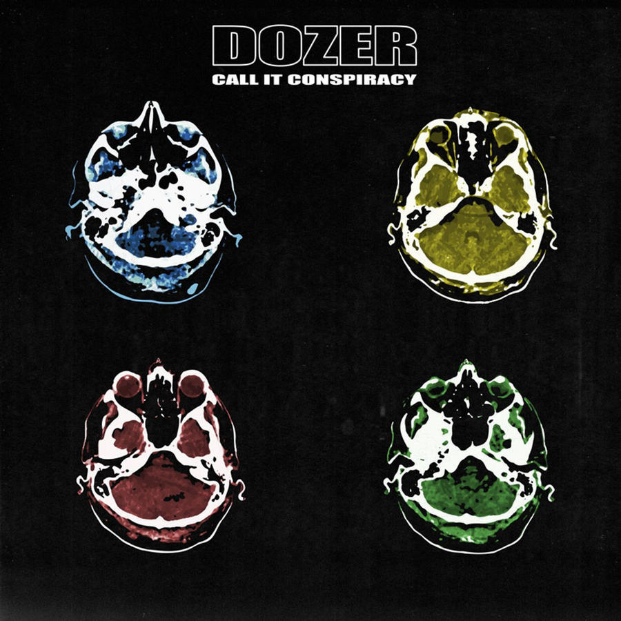 DOZER - CALL IT CONSPIRACY  LP (LIMITED GREEN OR TRADITIONAL BLACK)