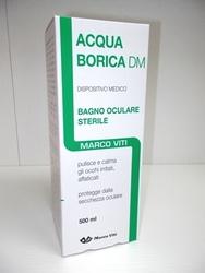 ACQUA BORICA DM Bagno Oculare Sterile