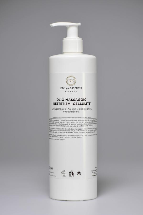 Olio Massaggio Inestetismi Cellulite 500 ml