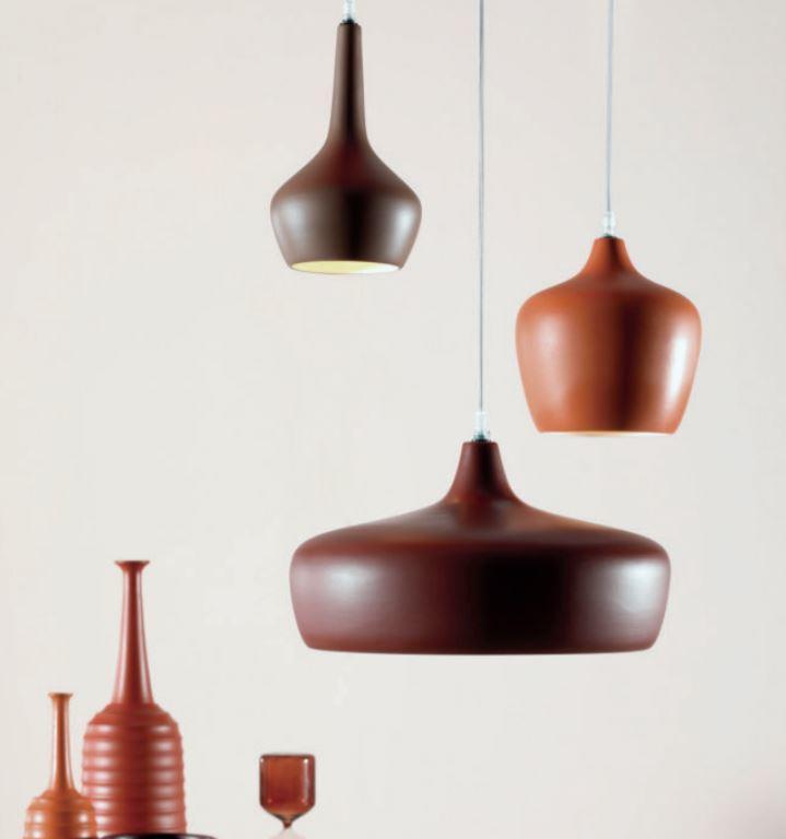 Lampada a Sospensione Goldie di Tonin Casa in Ceramica con Rosone Multiplo, Varie Misure e Finiture - Offerta di Mondo Luce 24