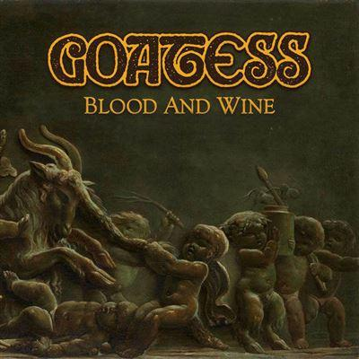 GOATESS- BLOOD AND WINE  2LP(GOLD ULTRA LIMITED)