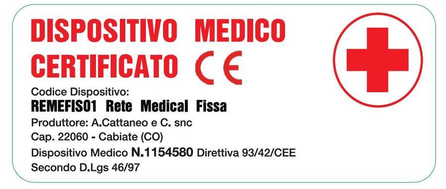 Rete in Legno Medical a Doghe di Legno 100x200 Iva agevolata 4%  Presidio Medico Prodotto Italiano