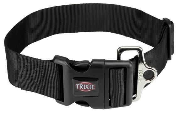 Trixie XXL Collare Alto Per Cani Di Grande Taglia Regolabile 55-80 cm Spesso 5 cm Nero