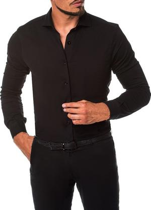 MEN'S BODY SHIRT FOR DANCE IN TECHNICAL ELASTIC FABRIC 9-0007