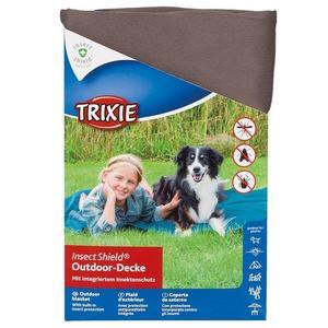 Trixie Insect Shield Coperta Per Cani 70x50  Con Antiparassitario Contro zecche Zanzare  Pulci