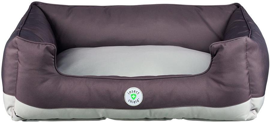 Trixie Insect Cuccia Marrone Per Cani 80x65 cm Con Repellente contro Zecche Pulci Zanzare