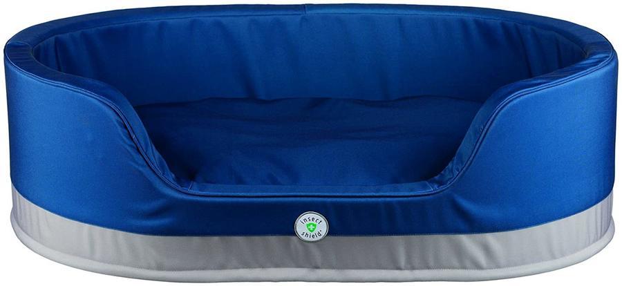 Trixie Insect Shield Cuccia Per Cani 55x45 cm Con Antiparassitario Contro Pulci Zecche