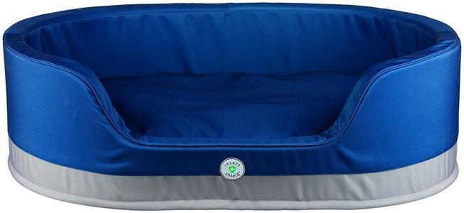 Trixie Insect Shield Cuccia Blu Sfoderabile Per Cani 70x55 cm Cuscino Materasso