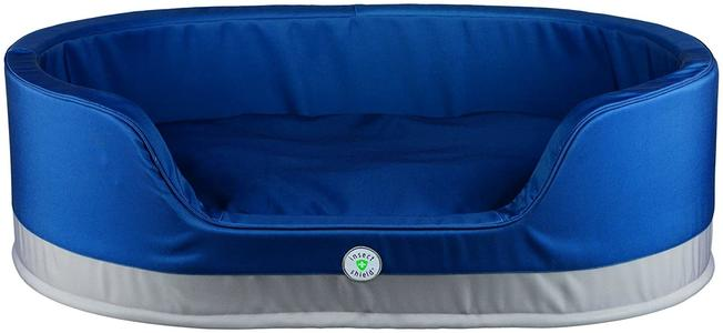 Trixie Insect Shield Cuccia Sfoderabile Blu Per Cani 85x65 cm Cuscino Materasso